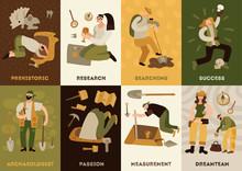 Archeology Cards Set