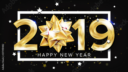 Photo  2019 Happy New Year Background Vector