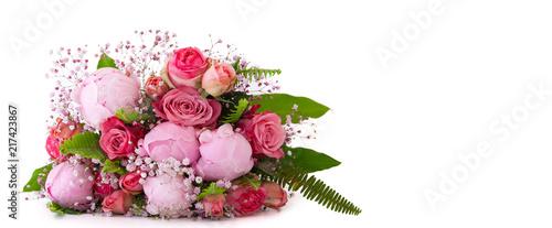 freigestellter liegender Blumenstrauß  © Anja Götz