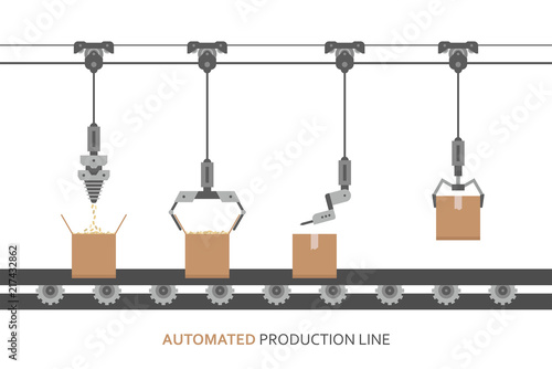 Fotomural Automated production line