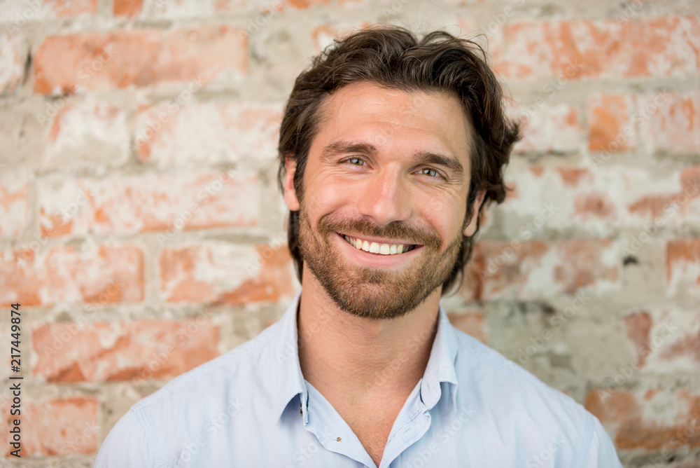 Fototapeta Handsome man portrait