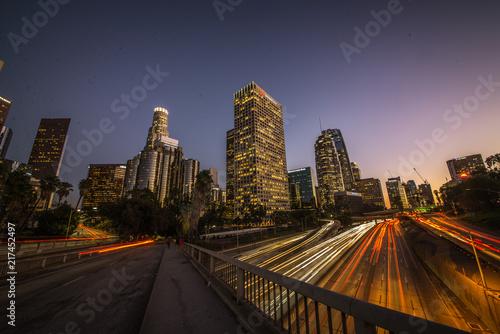 Staande foto Los Angeles Los angeles downtown