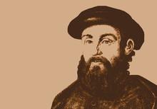 Magellan - Navigateur - Portrait - Explorateur - Personnage Historique - Célèbre - Découverte