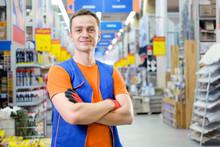 Salesman At Construction Super...