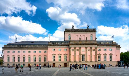 Spoed Foto op Canvas Theater Staatsoper Unter den Linden