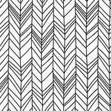 Hand drawn chevron herringbone seamless pattern with childish drawing style - 217476826