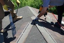 Roofer Builders Installing Asp...