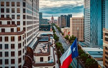 Texas Flag Over Congress Avenu...