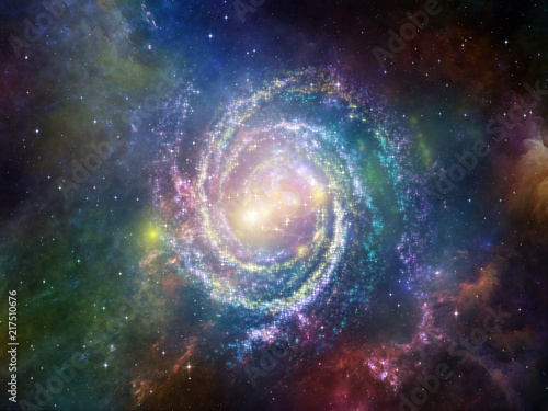Synergies of Void Canvas Print