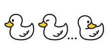 Duck Vector Icon Logo Cartoon ...