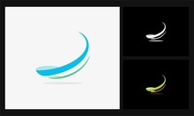 Line Swirl Connect Logo