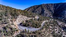 Angeles Crest Highway Curve 003