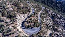 Angeles Crest Highway Curve 006