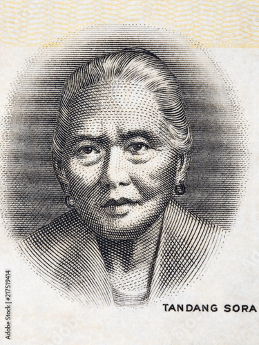 Melchora Aquino portrait from Philippine money Wallpaper Mural