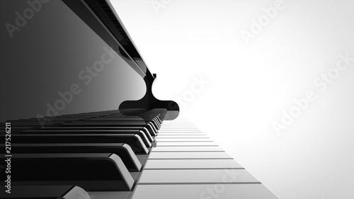 Fotografía  グランドピアノ 鍵盤
