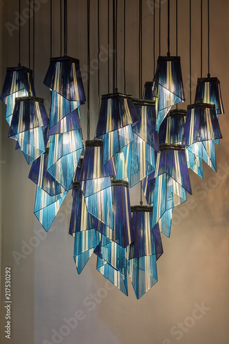 Photo  Decorating  modern style lantern lamps
