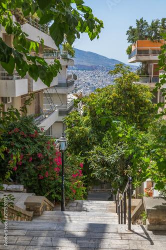 Mont Lycabette à Athènes