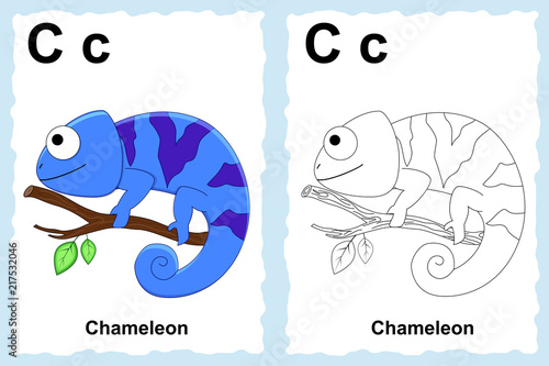 alphabet coloring book page with outline clip art to color ...