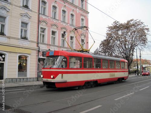Fotografie, Obraz  Tatra T3 tram on Albertov