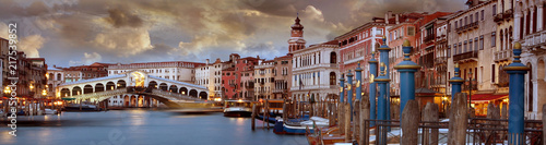Poster Venice Grand Canal Venice