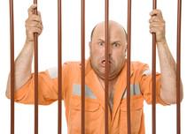 A Hardened Criminal Behind Bar...