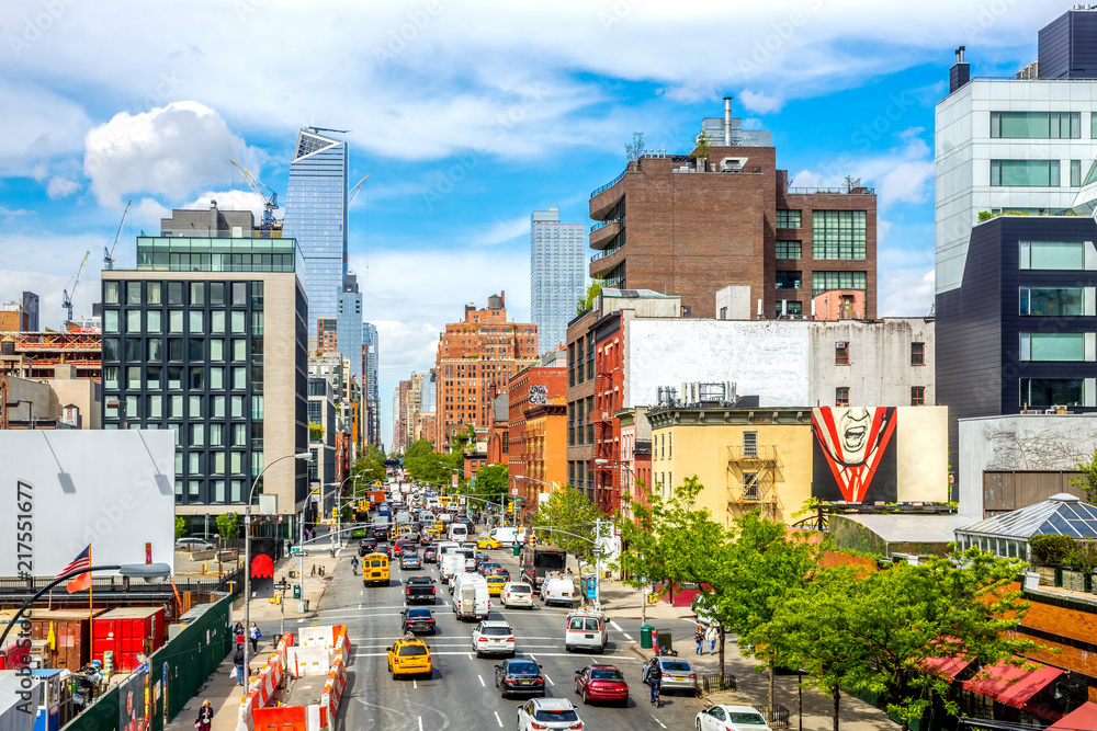 Fototapety, obrazy: The High Line Park, Meatpacking District, New York City, USA