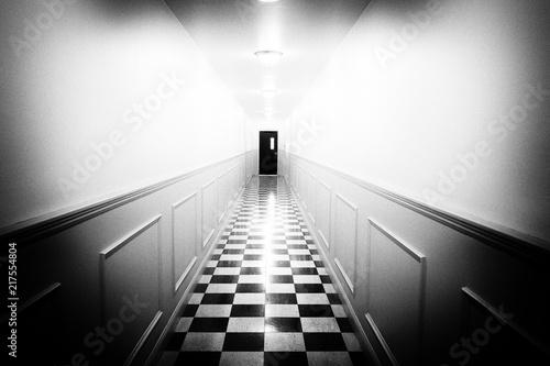 hallway of horror Canvas