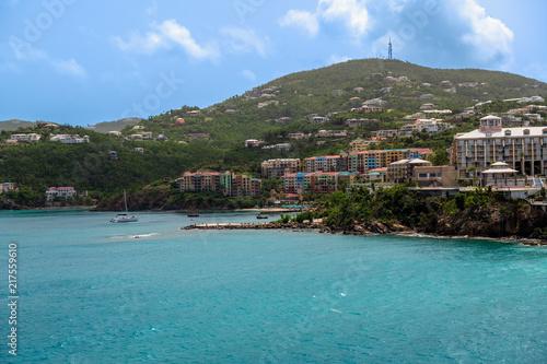 Staande foto Oceanië Mountainside View St Thomas