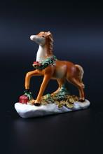 Little Porcelain Horse Of A Br...