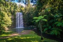 Millaa Milla Falls In The Summ...