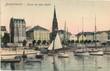 canvas print picture - Bremerhaven; Partie im Alten Hafen 1904 (original historische Postkarte von Reinicke & Rubin Magdeburg )