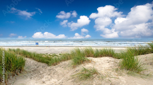 Tuinposter Noordzee Nordsee, Strand auf Langeoog: Dünen, Meer, Entspannung, Ruhe, Erholung, Ferien, Urlaub, Glück, Freude,Meditation :)