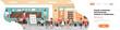 School lesson female teacher holding pointer flip chart mix race pupils standing board classroom horizontal banner copy space flat vector illustration