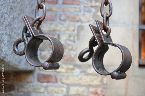 I have a dream. The end of slavery. Symbol of slavery-shackles Wallpaper Mural