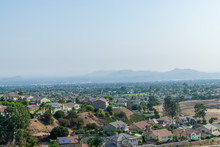 Smoke From Wildfire Covers Inland Area Suburbs Of Southern California