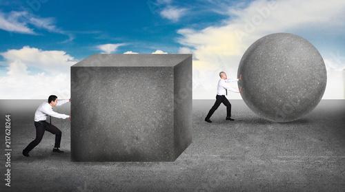 Papel de parede Innovation in business concept