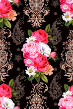Seamless Pattern With Indian M...