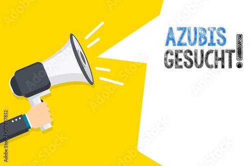 Fotografía Azubis gesucht!