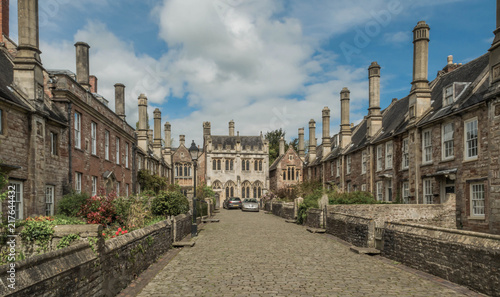 Fotografía  Historic Residential Street in the Quintessentially English Market Town of Linco