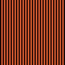 Orange Black Striped Background, Seamless Pattern