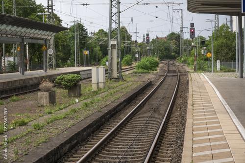 Fotografía  Bahnhof