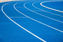 Running Track Blue Color - For...