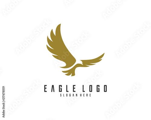 Eagle logo vector Poster Mural XXL