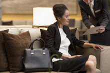 Professional Service In Luxury Hotel