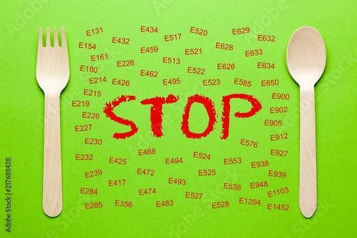 Fotografia  Stop Banned Additives