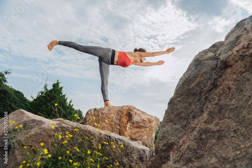 Fotografiet  In yoga pose