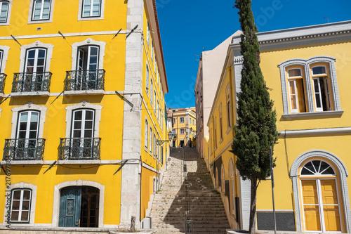 Lisbon street view. Portugal