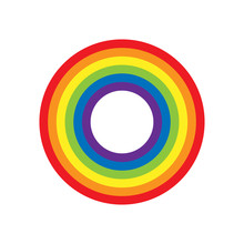 Rainbow Circle Vector Illustra...