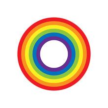 Rainbow Circle Vector Illustration