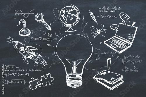 Fotografía  Knowledge and plan concept